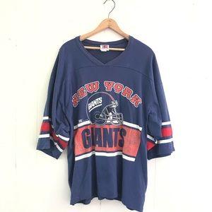 Vintage New York Giants 3/4 Sleeve Shirt